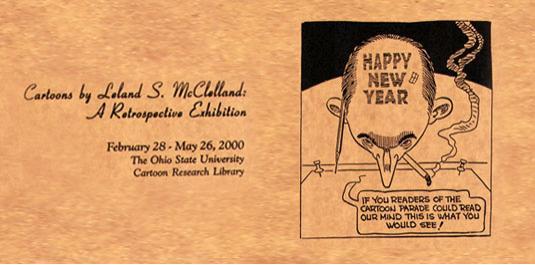 Cartoons by Leland S. McClelland: A Retrospective Exhibition