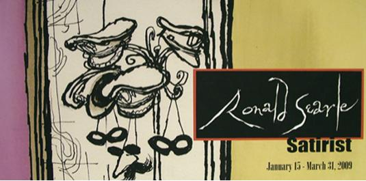 Ronald Searle: Satirist