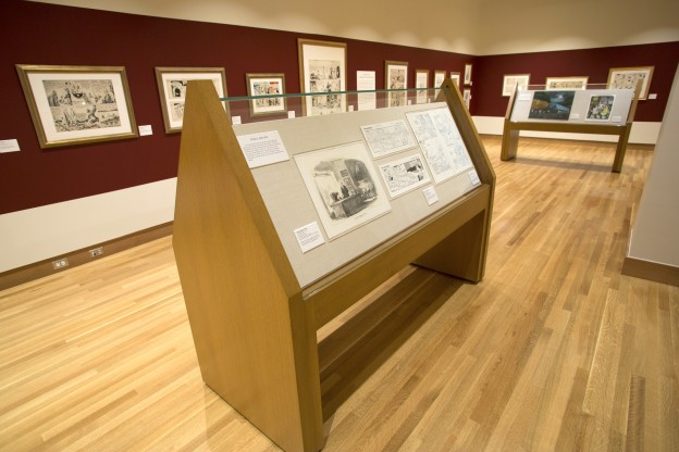 Billy Ireland Cartoon Library & Museum, Robinson Gallery