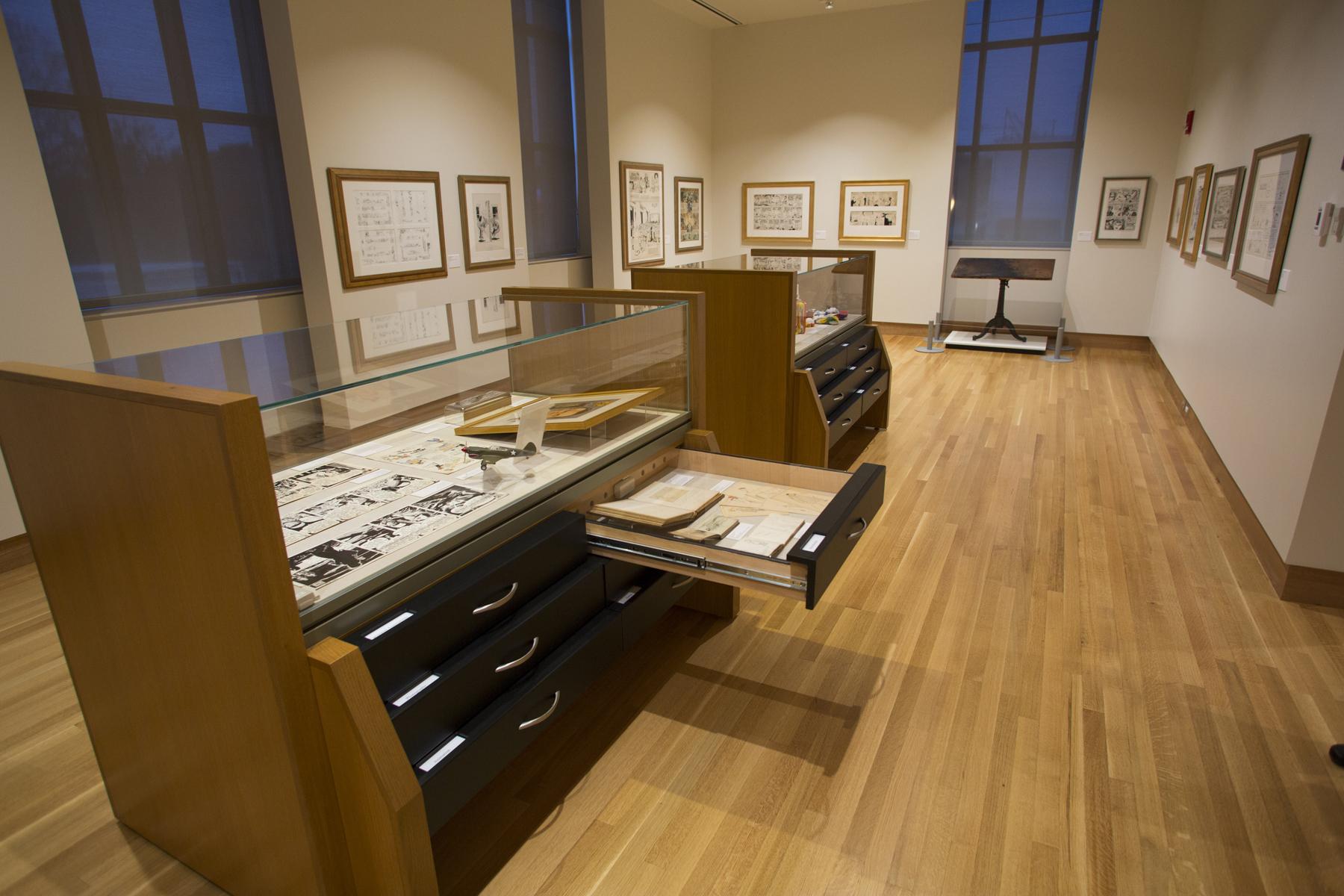 Treasures Gallery, Billy Ireland Cartoon Library & Museum