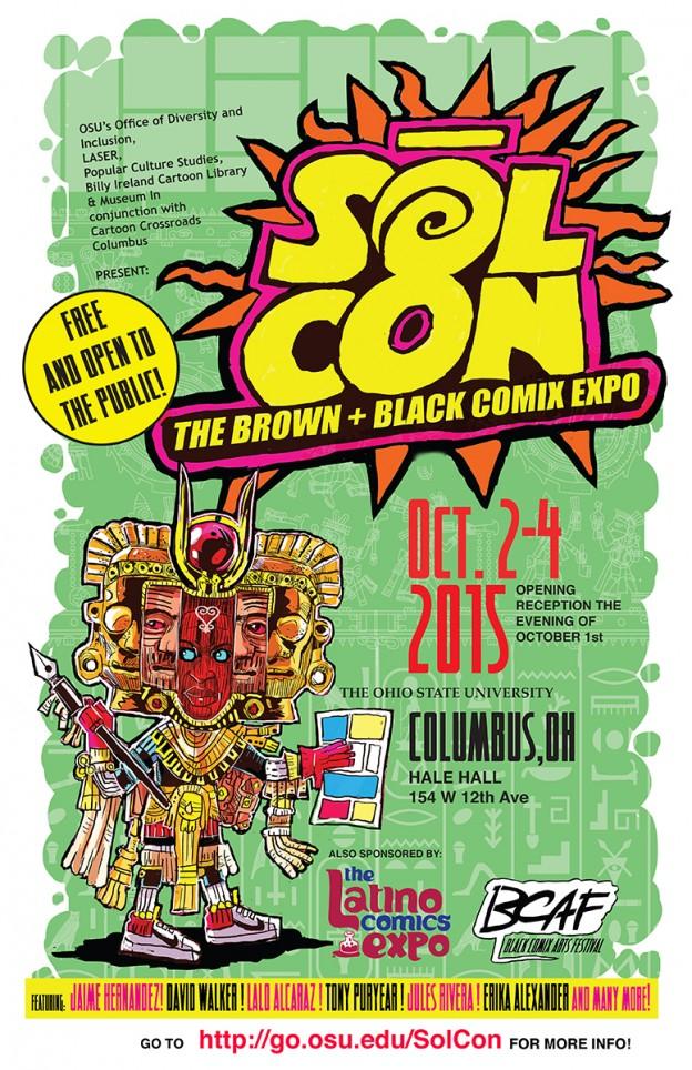 Sol Con: The Brown + Black Comix Expo