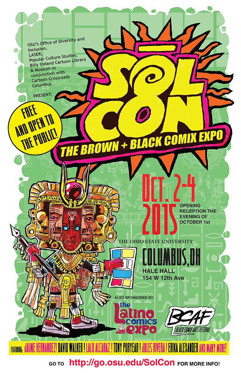 Sol-Con: The Brown + Black Comix Expo