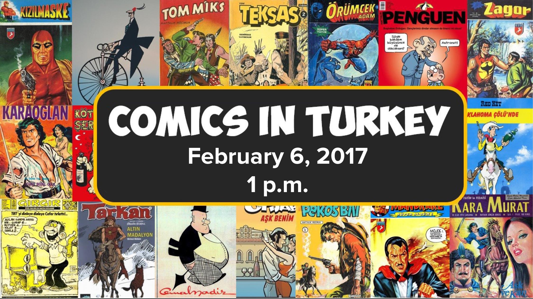 Nedim Bali | Comics in Turkey