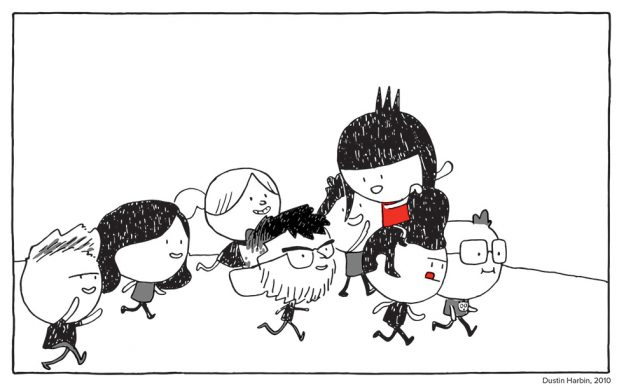 [Annie Koyama and friends] by Dustin Harbin, 2010