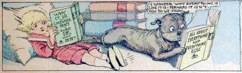 BICLM book sale, Buster Brown, comics