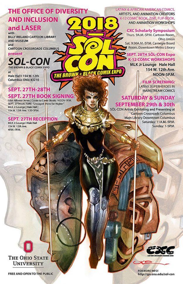 SOL-CON: The Brown + Black Comix Expo, September 27-28, 2018