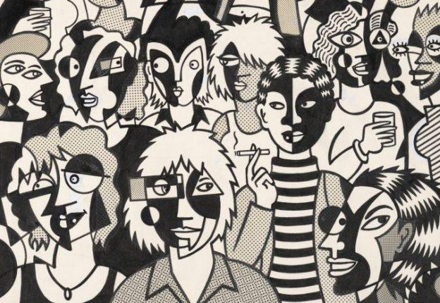 MaryFleener. PartyScene. 1982
