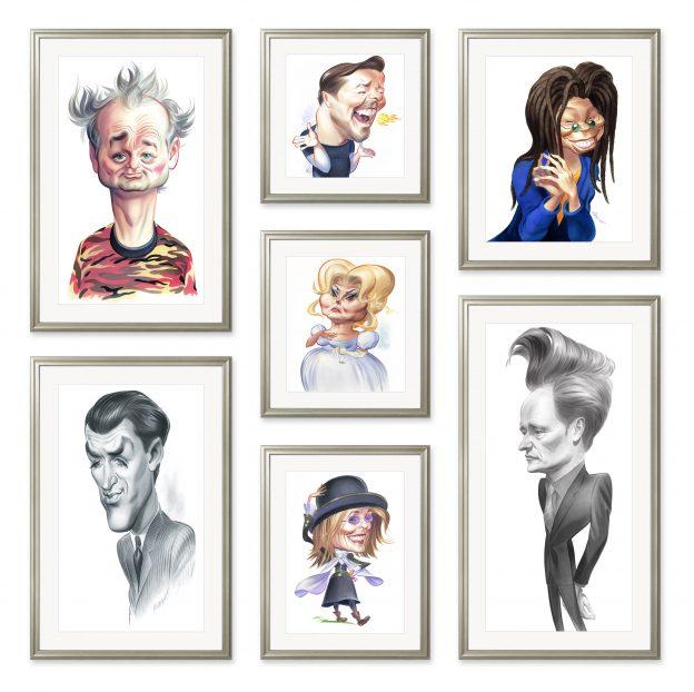Caricatures by John Kascht
