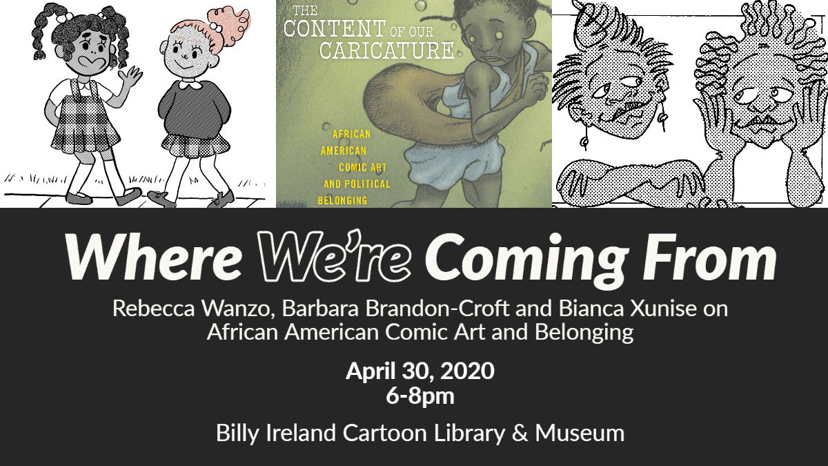 Where We're Coming From: African American Comic Art & Belonging (Online Event)