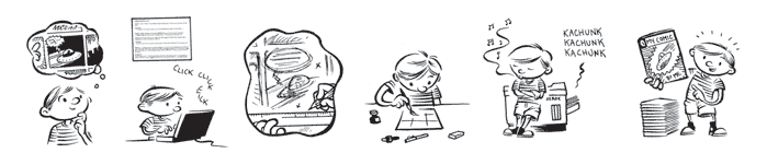 POSTPONED -Mini-Comics Day — Hands-On Workshop