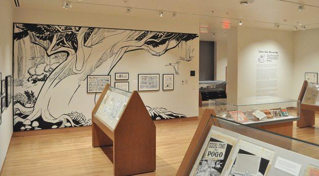 Pogo virtual tour, comics, Billy Ireland Cartoon Library & Museum