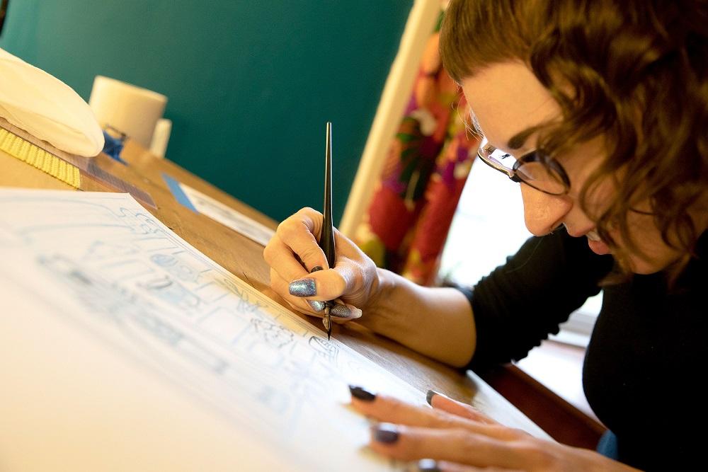 Emi Gennis Talk & Teach: Hand Lettering Fundamentals