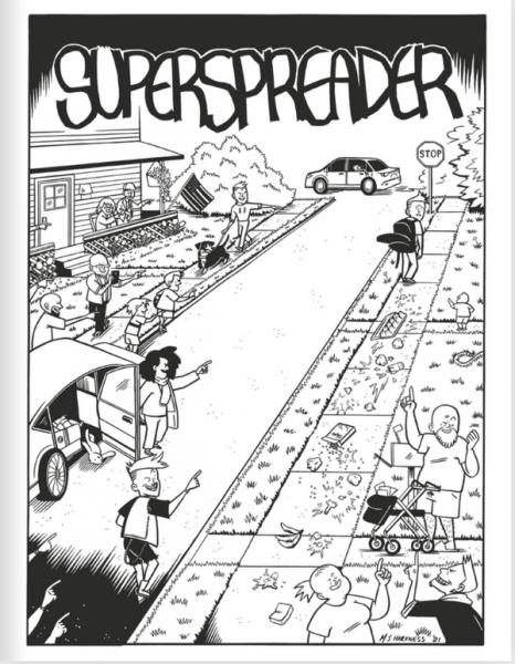 Third Mind Comics Presents: Superspreader